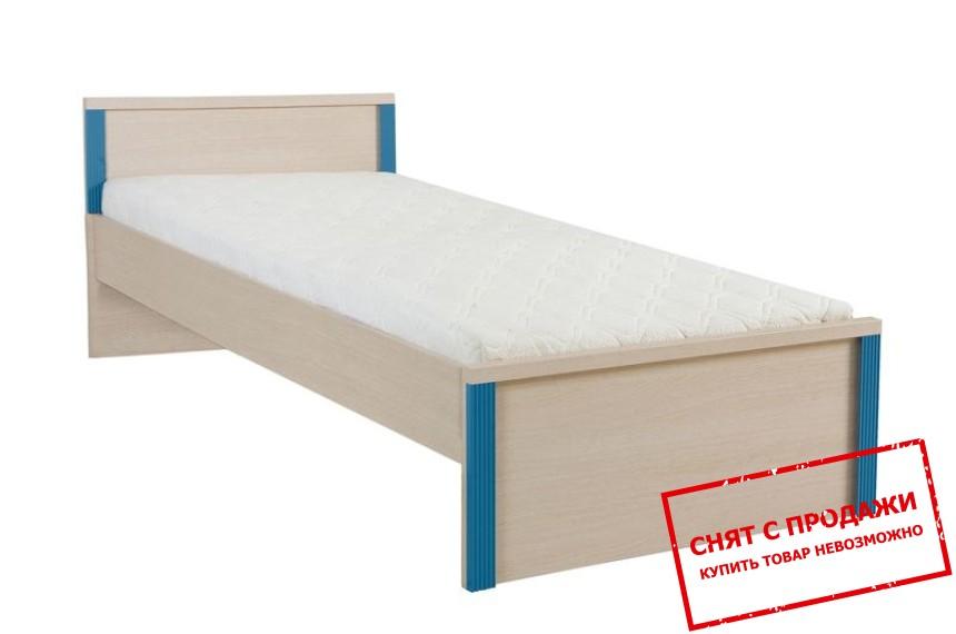 Кровать + ламель Капс Голубой LOZ90 БРВ