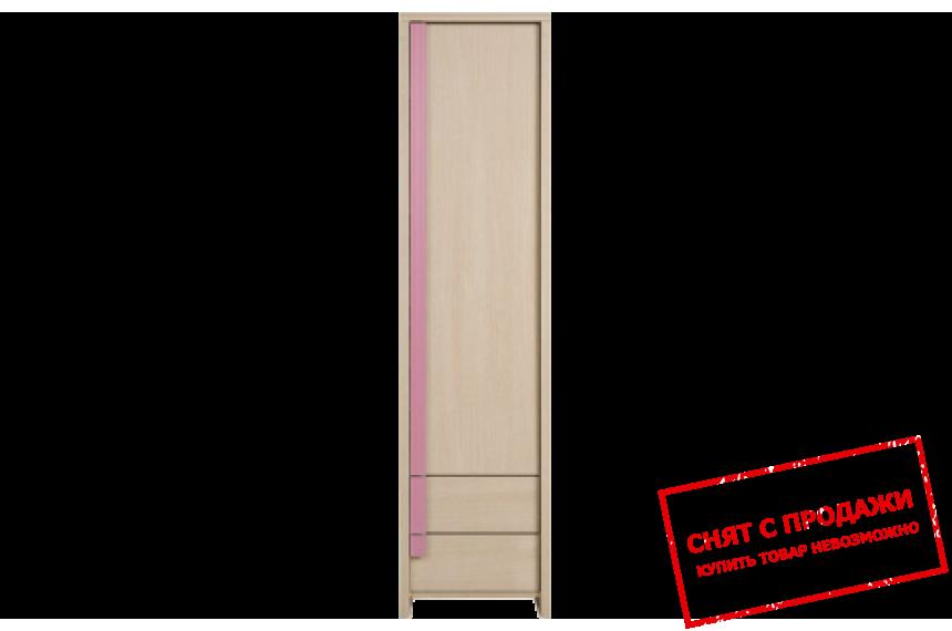 Шкаф Капс Розовый REG1D2S БРВ
