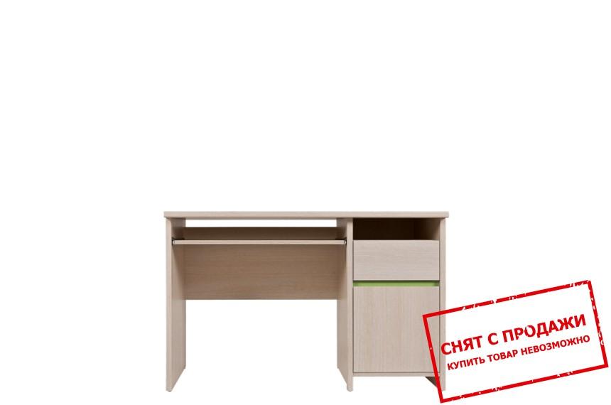 Стол письменный Нумлок зеленый BIU1D1S БРВ