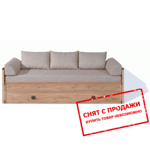 Кровать-диван раздвижной + матрас + подушки Индиана JLOZ80/160 БРВ