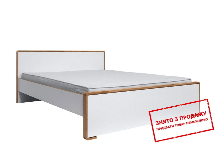 Ліжко двоспальне Bari LOZ160 BRW