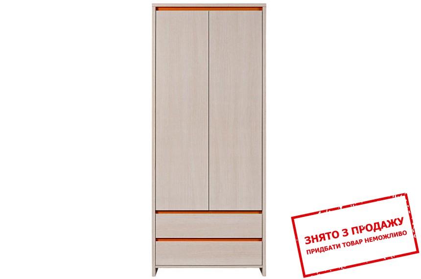 Шафа для одягу Нумлок помаранчевий SZF2D2S БРВ