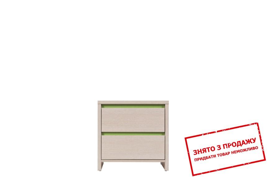 Тумба приліжкова Нумлок зелений KOM2S БРВ