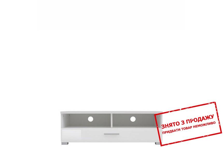 Тумба для ТВ Хеппі Білий глянець RTV1S/3/10 II БРВ