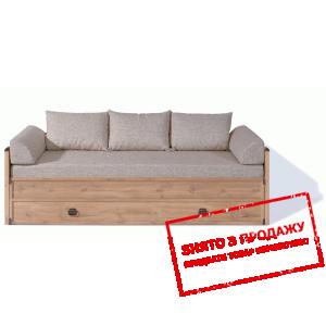 Ліжко-диван розсувний +матрац + подушки Індіана JLOZ80/160 БРВ