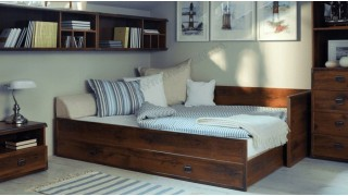 Модульная мебель «Индиана» (Indiana) от BRW — строгая классика