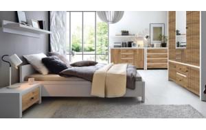 Модульні меблі для спальні Black Red White від виробника - гармонійно і зручно