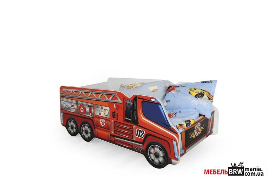 Ліжко дитяче Halmar FIRE TRUCK