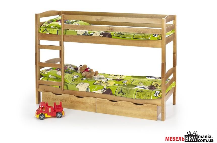 Кровать двухъярусная детская Halmar SAM