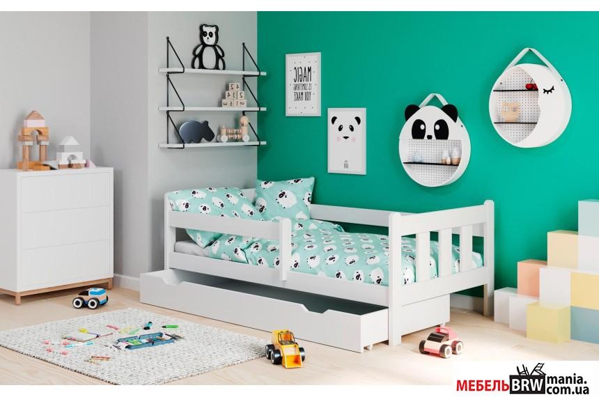 Кровать детская Halmar MARINELLA белая