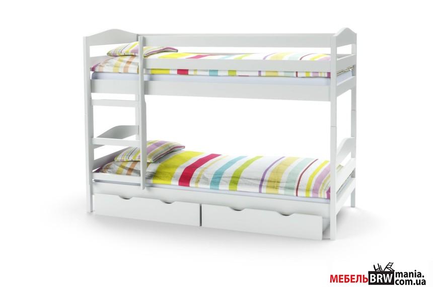 Ліжко дитяче Halmar Sam біла