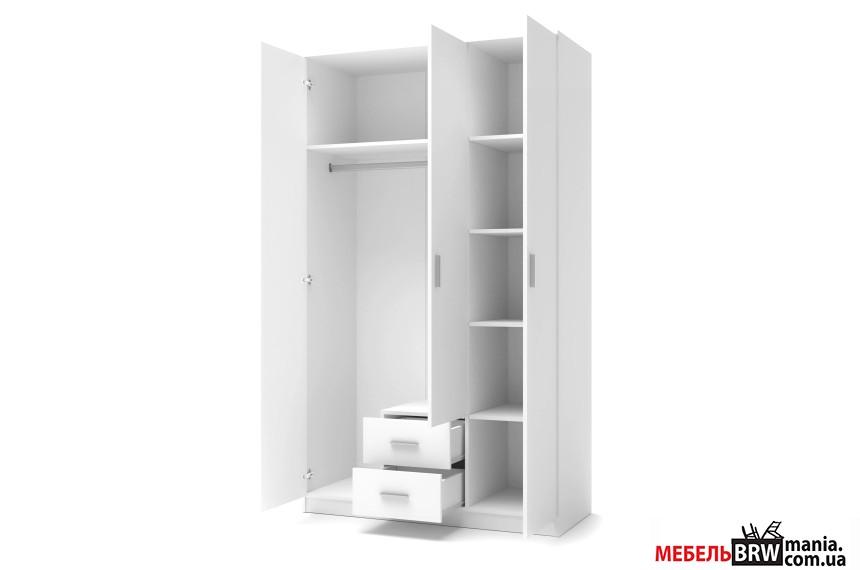 Шкаф Halmar LIMA S-3 белый