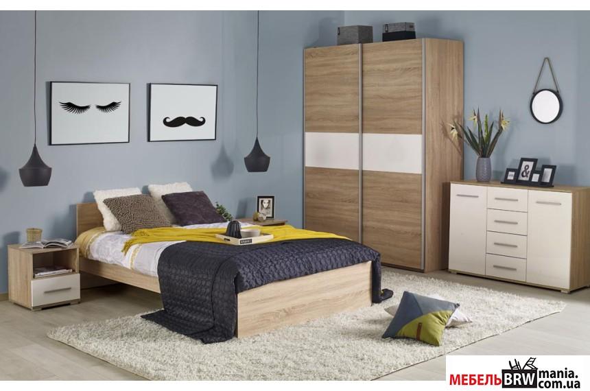Кровать Halmar LIMA LOZ-120х200 белый