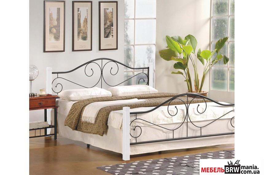 Ліжко Halmar VIOLETTA 140 біла
