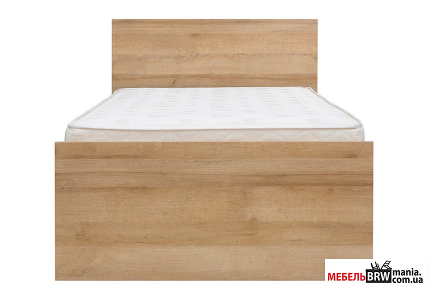 Ліжко односпальне Balder LOZ90 BRW