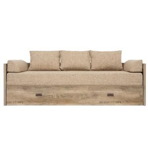 Диван-ліжко (Без матраца і подушок) Malcolm LOZ/80/160 BRW
