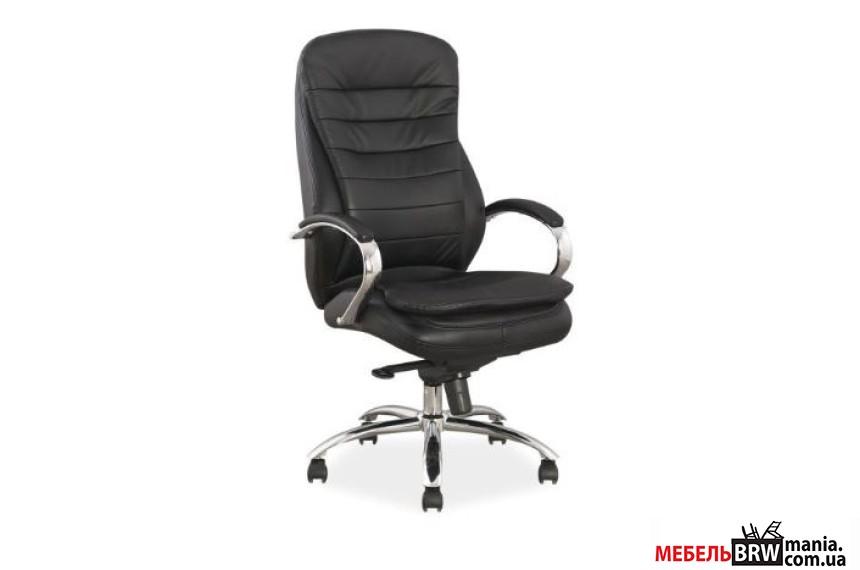 Крісло офісне Signal Q-154 натуральна шкіра