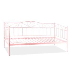 Ліжко односпальне Signal Birma 90 рожевий