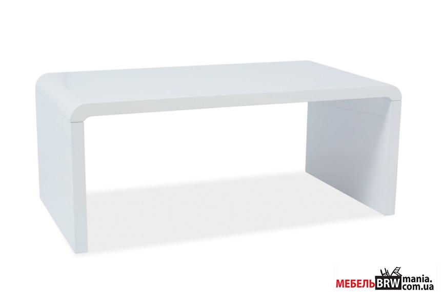 Стіл журнальний Signal Mio білий лак