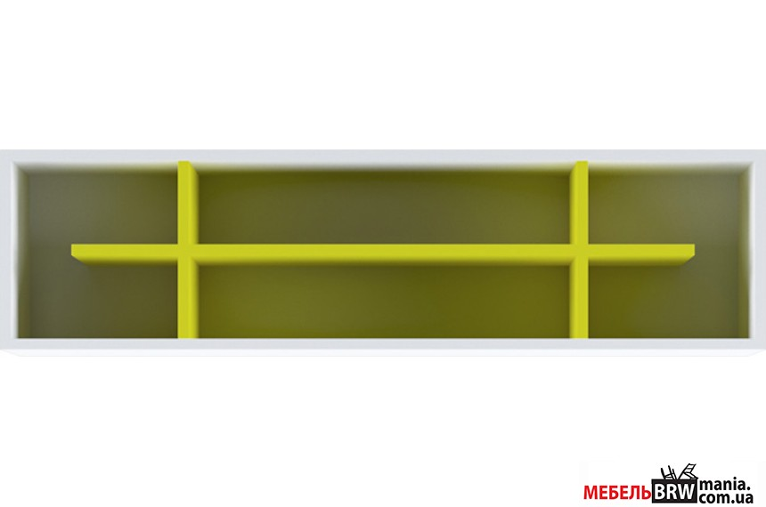 Полиця Мобі Німфеа альба/Жовтий POL Гербор