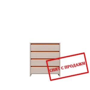 BRW (БРВ) Комод Нумлок Numlock оранжевый KOM4S/80