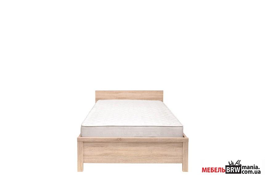 Ліжко односпальне (каркас) Каспіан Дуб Сонома LOZ90 БРВ