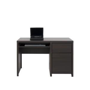 BRW (БРВ) Стол компьютерный, письменный Каспиан Kaspian Венге BIU 1D1S 120