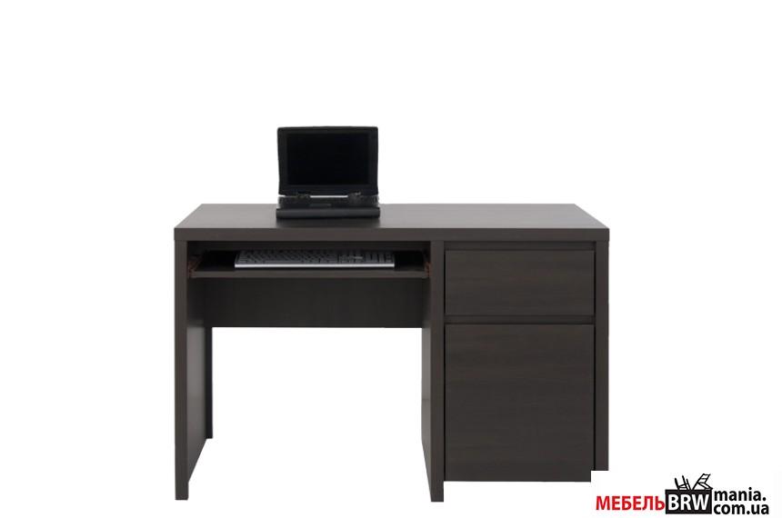 Стол компьютерный, письменный Каспиан Венге BIU1D1S/120 БРВ