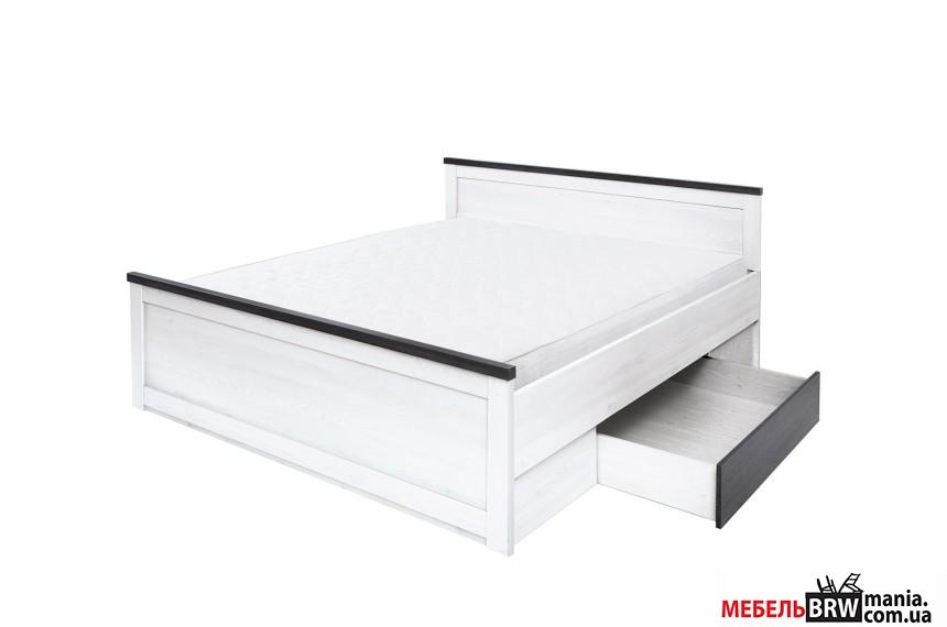 Кровать (каркас + ламель) Антверпен PLOZ160 БРВ