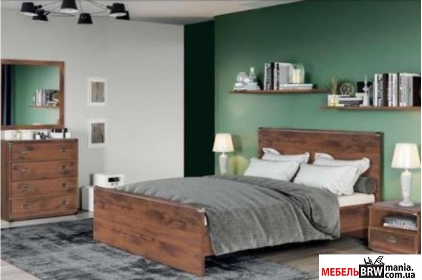 Кровать (каркас) Индиана Дуб шутер JLOZ140 БРВ