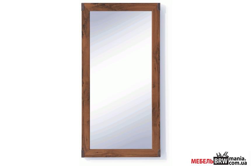 BRW (БРВ) Зеркало Индиана Indiana (дуб шутер) JLUS 50