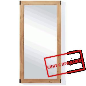 BRW (БРВ) Зеркало Индиана Indiana (сосна античная) JLUS_50