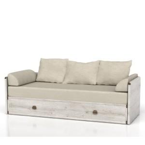 Ліжко-диван розсувний  + матрац + подушки Індіана Сосна каньйон  JLOZ80/160 БРВ