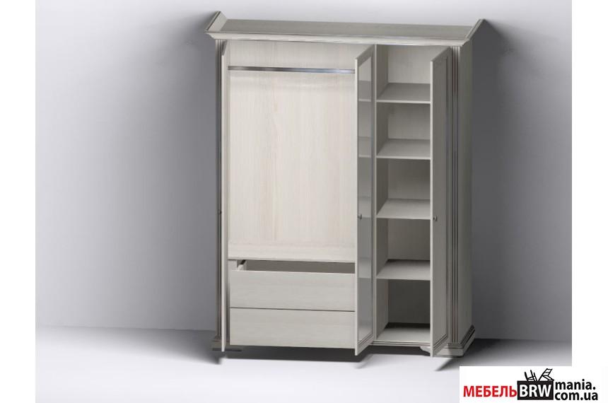 Gerbor (Гербор) Шкаф Вайт White 3D(2S)